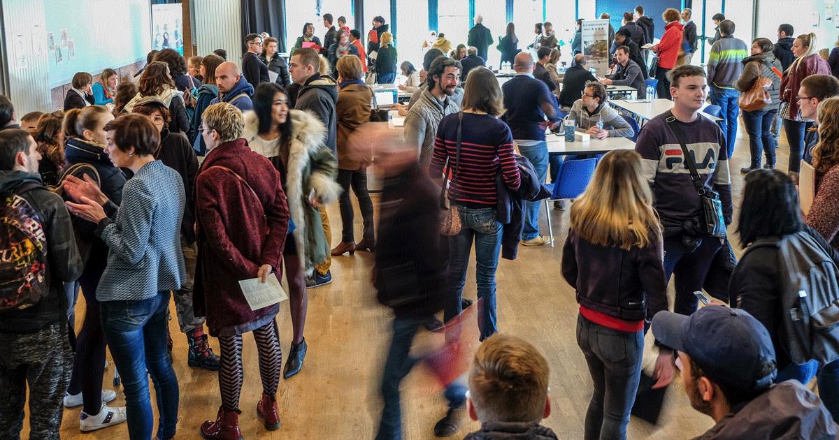 Forum de l'emploi à Baye en 2019