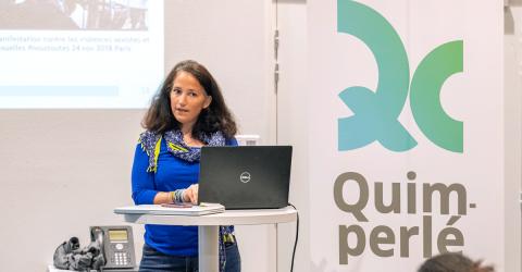 Yaelle Anselem-Mainguy lors du 2e rendez-vous de la Santé 2019