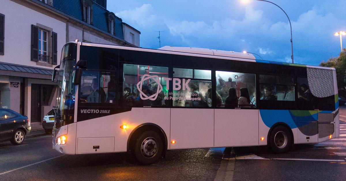 Bus TBK circulant à Quimperlé - Achive