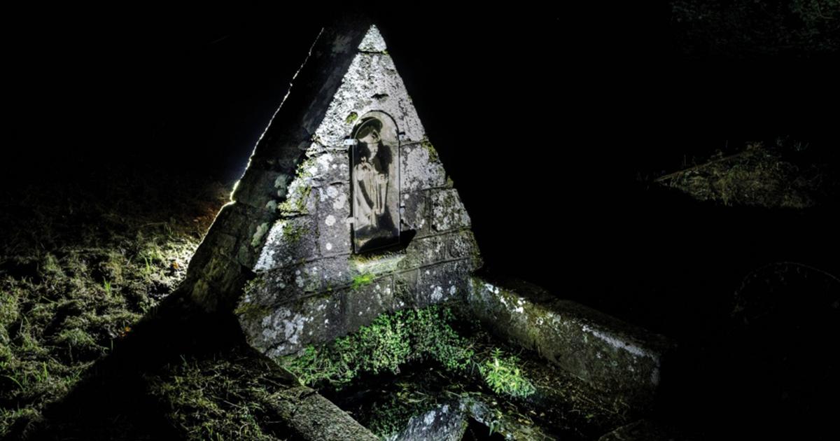 Fontaine et lavoir de Saint Diboan à Tréméven